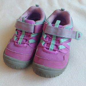 Oshkosh Purple Little Girls Velcro Sneakers
